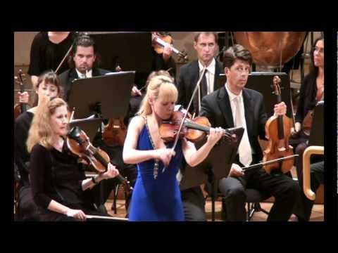 Ekaterina Frolova - J. Brahms Violin Concerto - Radio Symphony Orchestra Vienna 1/5