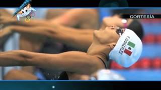 Fernanda González 200 metros femenil dorso Juegos Olímpicos Londres 2012