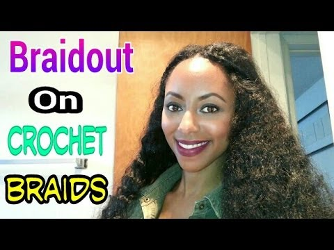 Crocheting On Youtube : Braidout on crochet braids? - YouTube