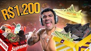 GANHEI 1200 REAIS ABRINDO 1 CAIXA