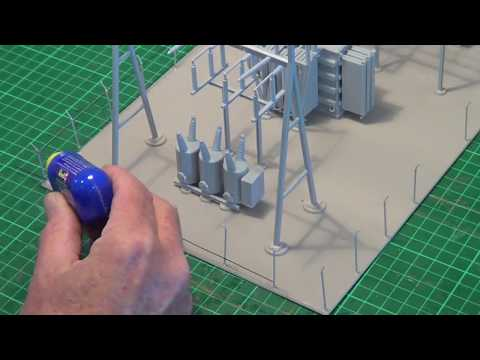 """Walthers Substation Northern Light & Power"" Model Trains Part 45 Final"