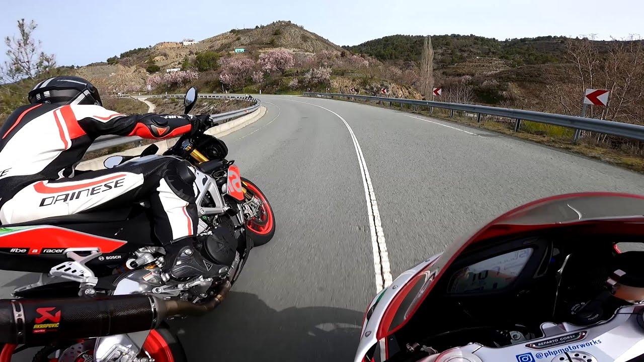 Street Ride With Mv Agusta - Aprilia Tuono - Ducati 848 - Ninja ZX10R