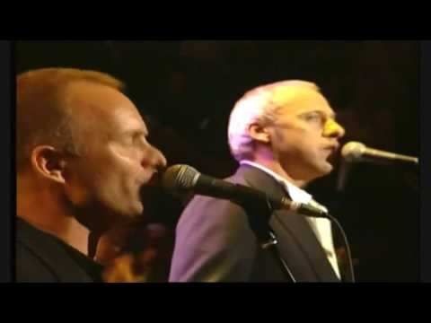 Mark Knopfler, Eric Clapton, Sting & Phil Collins - Money for Nothing Live