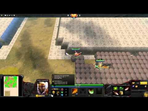 видео: Жизнь на арене. custom maps dota 2.