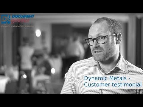 Customer Testimonial - Dynamic Metals