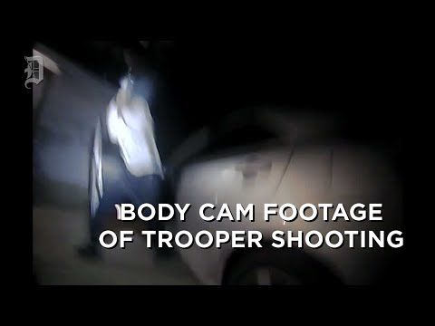 State Trooper Body Cameras Show The Traffic Stop Of Schaston Hodge
