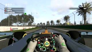 F1 2011 PC English Gameplay Max Setting HD 6850