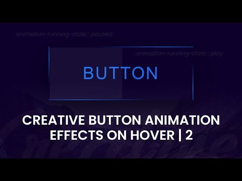 Creative Button Animation Effects On Hover| Html CSS Hover Effects thumbnail