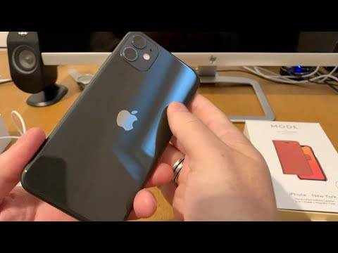 unboxing-of-iphone-11-black-64gb-and-mode-new-york-wallet-case-from-denmark