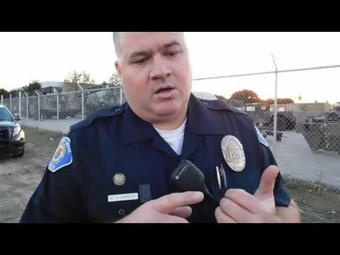 Illegally detained for suspicion of espionage by Garden Grove Police at Army Reserve first