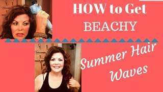 How I Got Beachy Hair Waves / Over 60 Lifestyle
