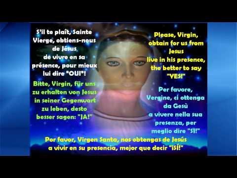 Marie, tendresse dans nos vies (en français, anglais, allemand, italien, espagnol) - tube1927