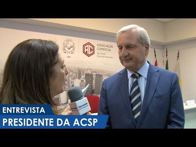 Entrevista com o presidente da ACSP na Distrital Noroeste