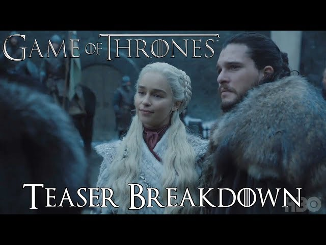 Game of Thrones Season 8 Teaser Breakdown/ Speculation