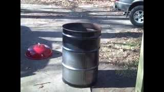 How To Build A Ugly Drum Smoker Cheap Part 1 - Bbq Smoker