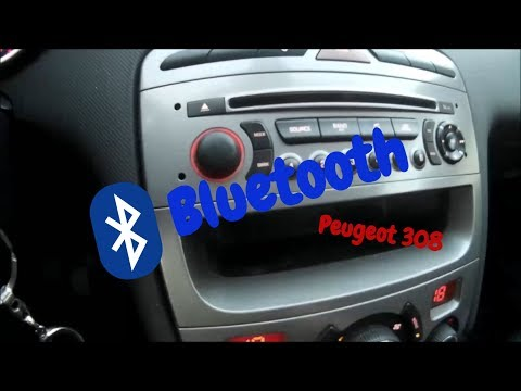 Peugeot 308 How To Pair Your Mobile To The Bluetooth System