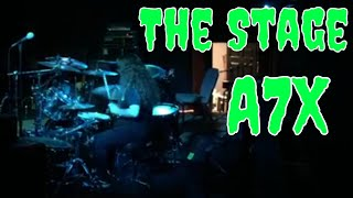 a7x the stage drum recital