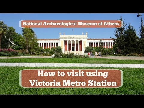 National Archaeological Museum of Athens - How to visit using Victoria Square Athens Metro Station