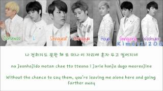 Infinite - Voice of My Heart (마음으로..) [Hangul/Romanization/English] Color & Picture Coded HD