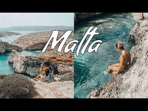 MALTA TRAVEL VIDEO 2018 | Comino Island, Gozo, Valletta