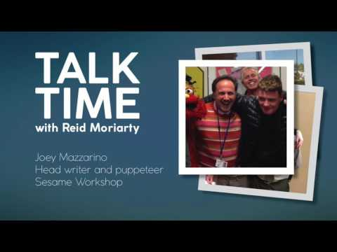 Talk Time with Reid Moriarty: Joey Mazzarino, head writer Sesame Street
