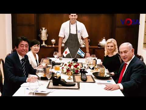 JAPANESE DIPLOMATS APPALLED BY OFFENSIVE DESSERT AT ABE-NETANYAHU DINNER