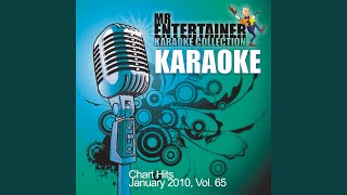 Cry Me a River (In the Style of Michael Buble) (Karaoke Version)