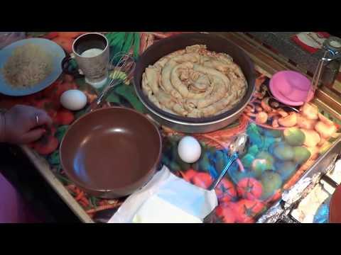 Грибной Пирог Из Блинов.  интересная подача блинов к столу