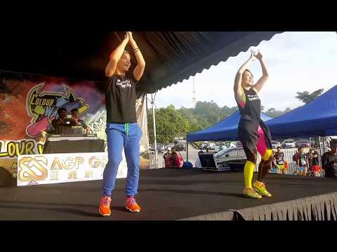 Zumba Warm Up – Colour War Run 2017