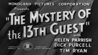 1943 Mystery of the 13th Guest Spooky Movie Dave