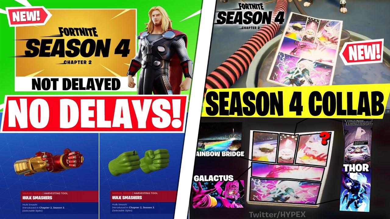 NEW Season 4 STARTING EVENT! *Marvel Collab* FREE Hulk Buster Pickaxe Today, NO SEASON DELAY & More!