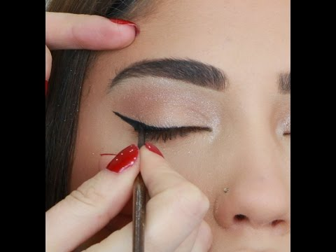 HOW TO DO SIMPLE CAT EYES PERFECTLY