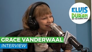 Grace VanderWaal on Her Song Writing Process, Her Pup Frankie and Trusting Fate | Elvis Duran Show