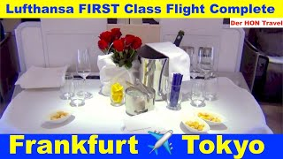 lufthansa first class flight complete 11 i love it there is no better way star alliance