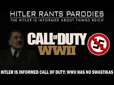 Hitler is informed Call of Duty: WWII has no Swastikas