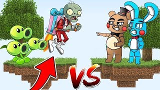 ILHA PLANTS VS ZOMBIES CONTRA ILHA FIVE NIGHTS AT FREDDY