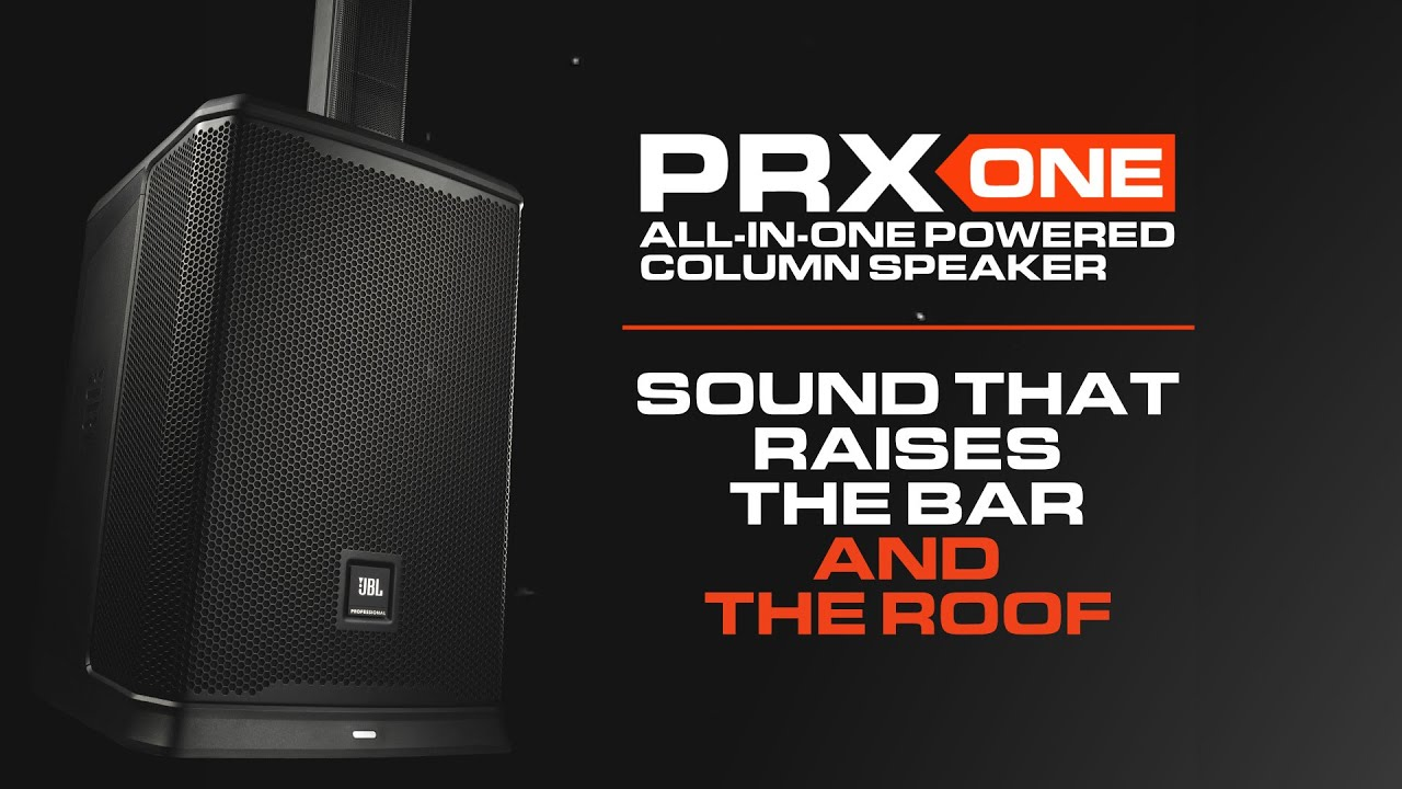 Download Introducing the JBL PRX ONE All-In-One Portable Powered Column PA System & JBL Pro Connect App