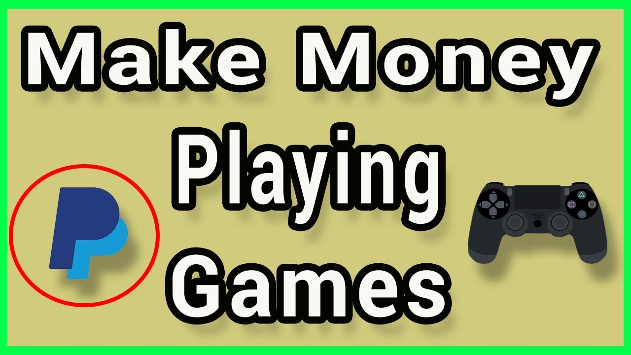Paypal Games For Money