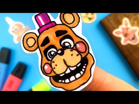 CREATE YOUR FNAF ANIMATRONICS   14 COOL Five Nights at Freddy's DIY IDEA   CHALLENGE | You cant hide thumbnail