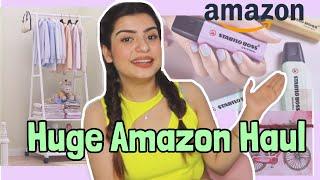 Huge Amazon Haul | Cute Stationery , Clothing Rack & More | Yashita Rai