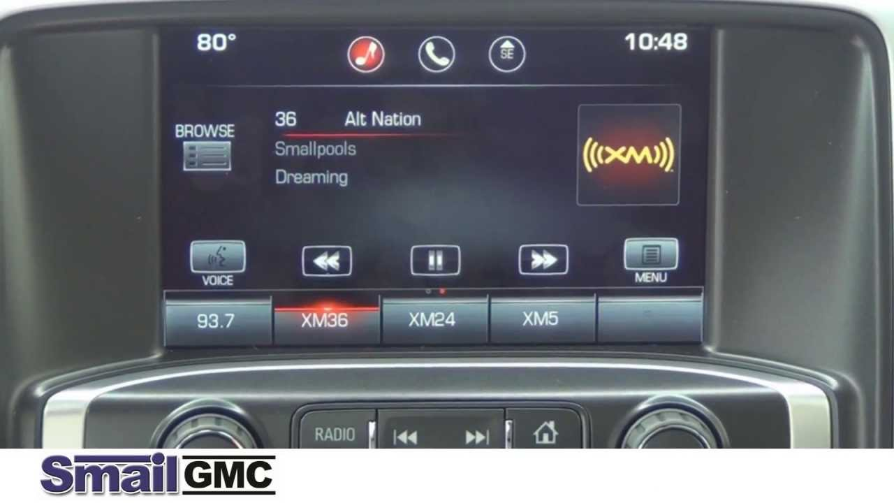 2014 Gmc Sierra Intellilink Youtube