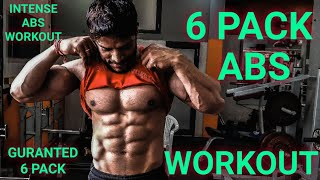 6 PACK ABS WORKOUT | Only 5 min ABS Exercise|Top 4 Exercise for ABS | 2019 |Rahul fitness official |