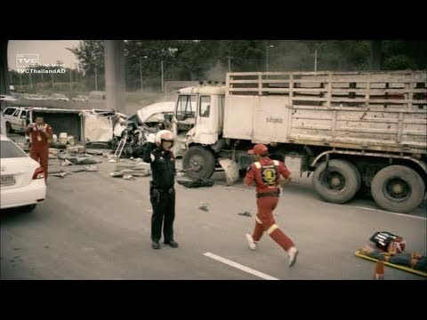 [HD] ขับดี ไม่มีอุบัติเหตุ Zero Accident โฆษณา PTT