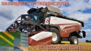 Rostselmash RSM 161 - Największy Wytrząsaczowy Rostselmash (Szczegółowa Prezentacja/Walkaround) ||58