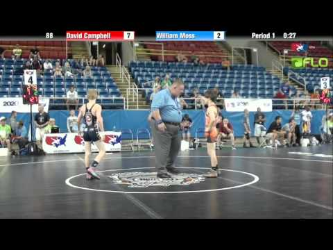 Cadet 88 - David Campbell (Pennsylvania) vs. William Moss (Georgia)