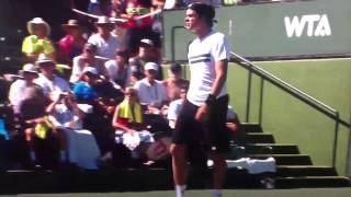 Milos Raonic vs Jo-Wilfred Tsonga Indian Wells 2013 Match Point HD 1080p