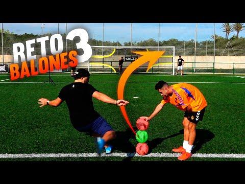 3 BALONES CHALLENGE ¡Retos de Fútbol!