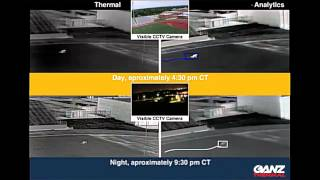 Ganz Thermal Imaging Camera Series Demonstration - Day verse Night