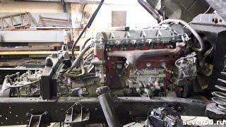 ГАЗ-66 с двигателем HINO J07C