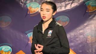 #USIntlClassic Ladies Free Skate Reaction   Karen Chen